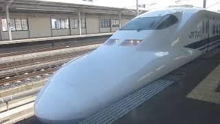 唯一現存する700系B4編成こだま645号新大阪行三河安城発車