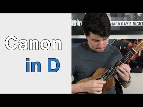 Canon in D - Ukulele Lesson
