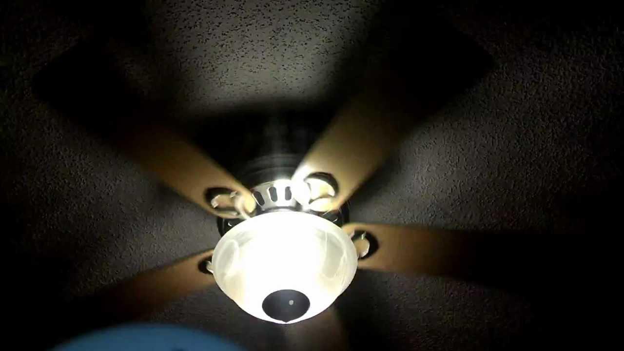 Hunter Stratford Ii Remote Control Ceiling Fan Speed Test