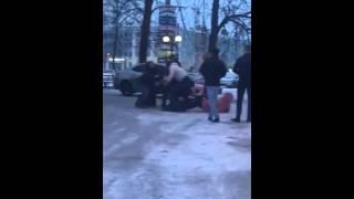 Массовая драка возле клуба в Дзержинске