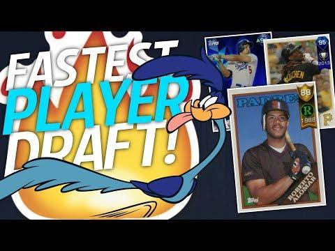 FASTEST PLAYER DRAFT! 95 DIAMOND ANDREW MCCUTCHEN | MLB THE SHOW 17 BATTLE ROYALE