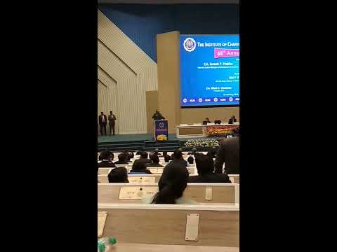 A CA raised serious issues against ICAI at CA Annual Function - Video 2