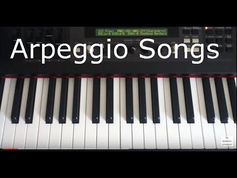 Arpeggios used in Popular Songs