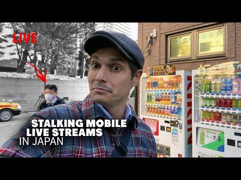 Stalking Mobile Live Streamers In Japan