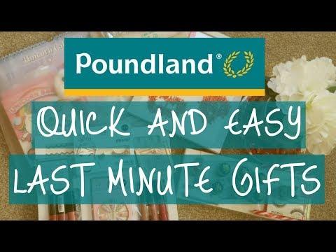 Last Minute Poundland gift ideas   Poundland Haul Christmas 2018   DIY Presents   Vlogmas Day 22