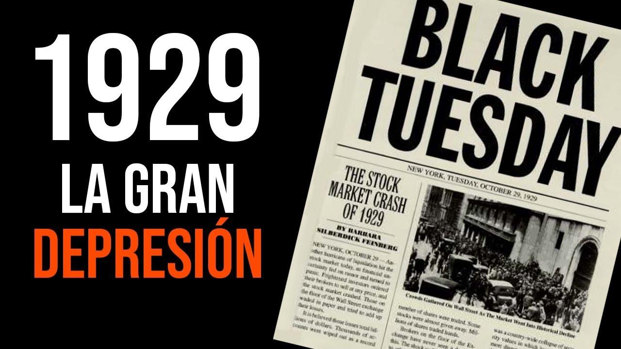 La gran depresión de 1929 en EEUU