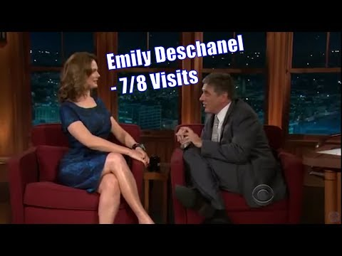 Emily Deschanel - Has A Fantastic Jury Duty Story  - 7/8 Visits In Chron. Order [Mostly Great Q]