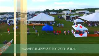 """Jets Over Kentucky """"JOK"""" Tent Fly By"""