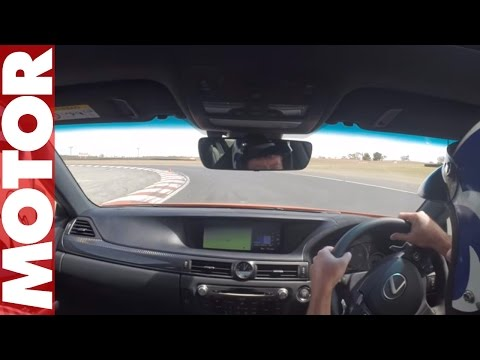 Lexus GS F drift | MOTOR
