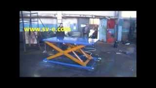 видео Грузовой подъемник мачтового типа грузоподъемностью 0,5 т. Производство и монтаж в Новосибирске