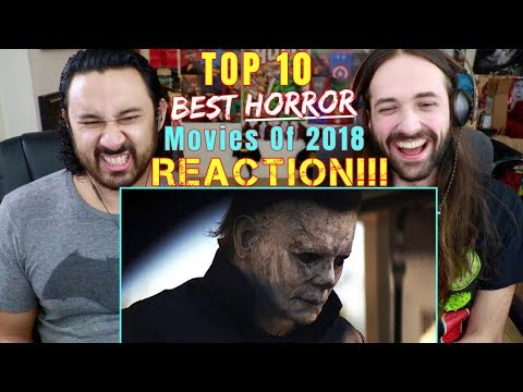 TOP 10 Best HORROR Movies of 2018 - REACTION & ANALYSIS!!!