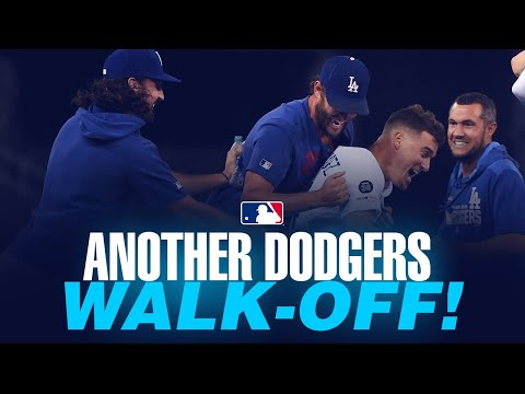 Dodgers pull off comeback, walk-off win No. 12 in 2019!