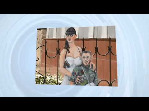 Ukrainian Banksy Uses Art to Overcome Captivity: Artist imprisoned by Kremlin-backed insurgents