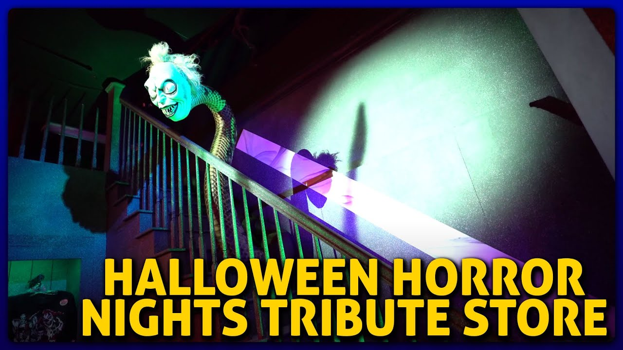 Youtube Halloween Horror Nights 2020 Halloween Horror Nights Tribute Store 2020 Overview Feat