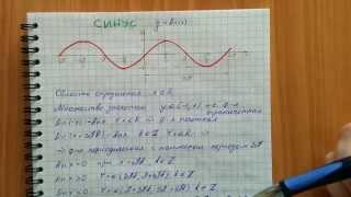 Тригонометрические функции: свойства, графики