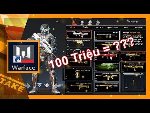 Warface Việt Nam | Tài Khoản Nạp Hơn 100 Triệu Có Gì ?