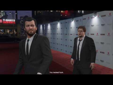 GTA 5 : Devin Weston kills jimmy Cinematic Story