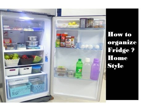 How to organise  fridge   in tamil | For more space and easy access |DeepsTAmilKitchen