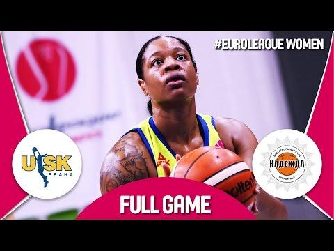 ZVVZ USK Praha (CZE) v Nadezhda (RUS) - Quarter-Final - Full Game - EuroLeague Women 2016/17