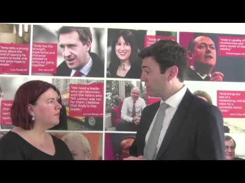 Andy Burnham interview