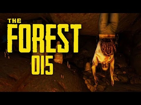 THE FOREST #015 - Expedition in die Todeshöhle | Let's Play The Forest