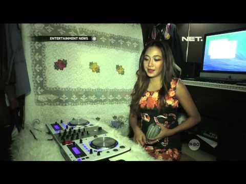 Nadia Vega Mengisi Waktu Luang dengan Latihan DJ