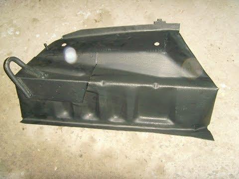 ВАЗ 2110 Панель пола задняя Карман