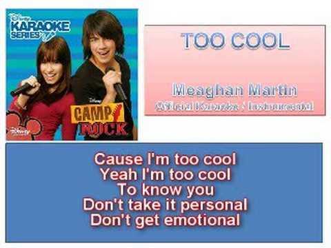 06 Too Cool - Official Karaoke / Instrumental (Lyrics)