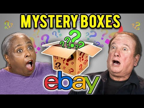 ELDERS REACT TO EBAY MYSTERY BOXES?!