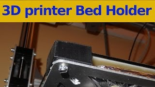 3D Printer Bed Holder For 3drag And Other ..