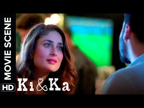 Arjun is very ambitious like his mom | Ki & Ka | Arjun Kapoor, Kareena Kapoor | Movie Scene thumbnail