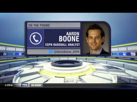 Aaron Boone talks about interviewing Derek Jeter -- The Michael Kay Show