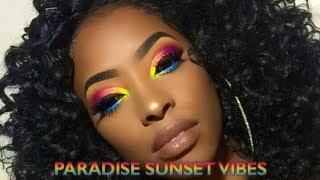 PARADISE SUNSET VIBES | How to: Correct Foundation that