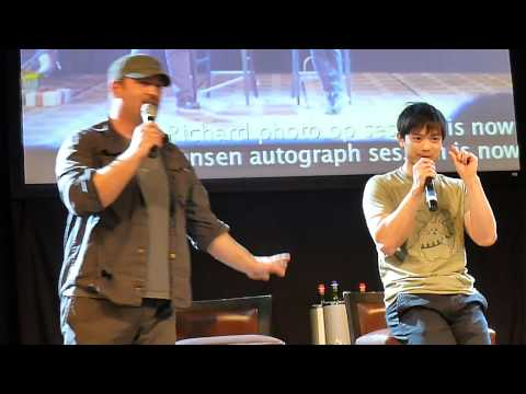 Jibcon 2014  Osric talks about Jared getting hurt wrestling with him