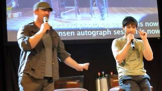 Jibcon 2014 - Osric talks about Jared getting hurt wrestling with him