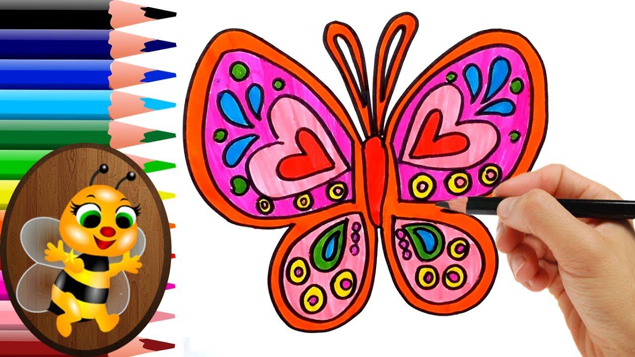 Imagenes De Mariposas De Colores: Mariposas De Colores Dibujos