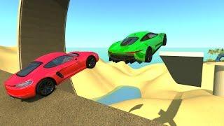 High Speed Jumps&Crashes #42 - BeamNG Drive Crash Testing