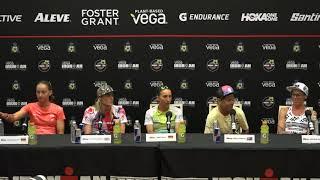 2019 Vega IRONMAN World Championship Pro Women's Press Conference
