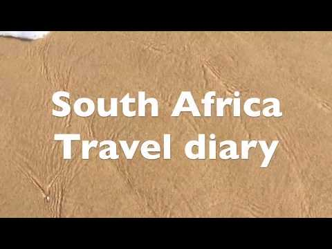 South Africa travel diary