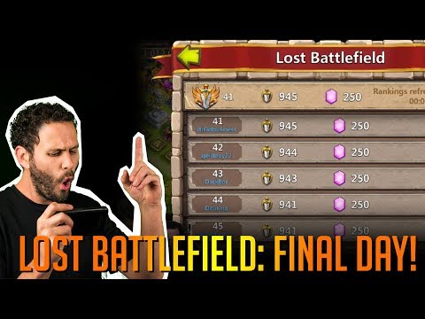 JT's Main Final Day Of Old Lost Battlefield Castle Clash