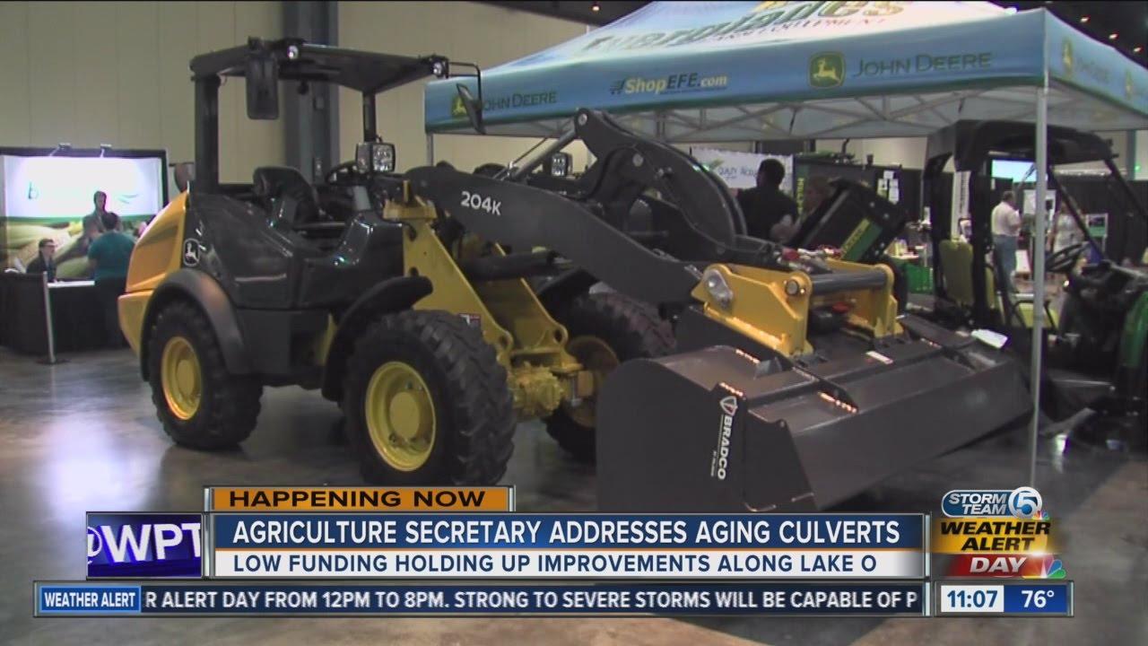 Florida Agriculture Commissioner Adam Putnam speaks at agricultural expo