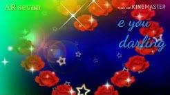 Love you O my darling (sweet love song) WhatsApp status😘😘😘