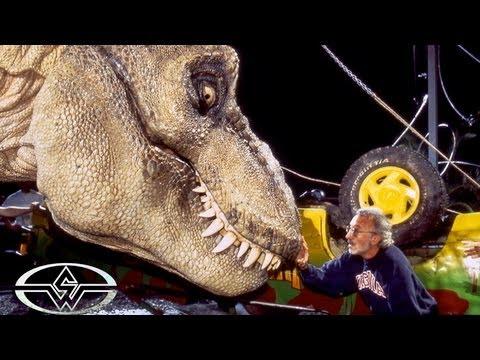 Jurassic Park Animatronic T Rex Rehearsal Behind The