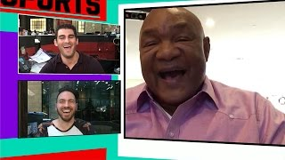 George Foreman- Muhammad Ali Loved Joe Frazier...Name-Calling Was An Act | TMZ Sports