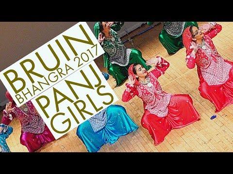 PANJ Girls @ Bruin Bhangra 2017