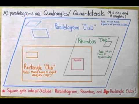Shapes - Quadrilaterals (with videos, worksheets, games & activities)