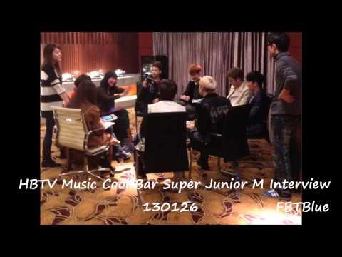 Super Jumior M  Full Hubei Chutian Music Radio FM 105.8 Interview 130126