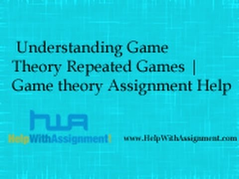 What do you mean by Game Theory?
