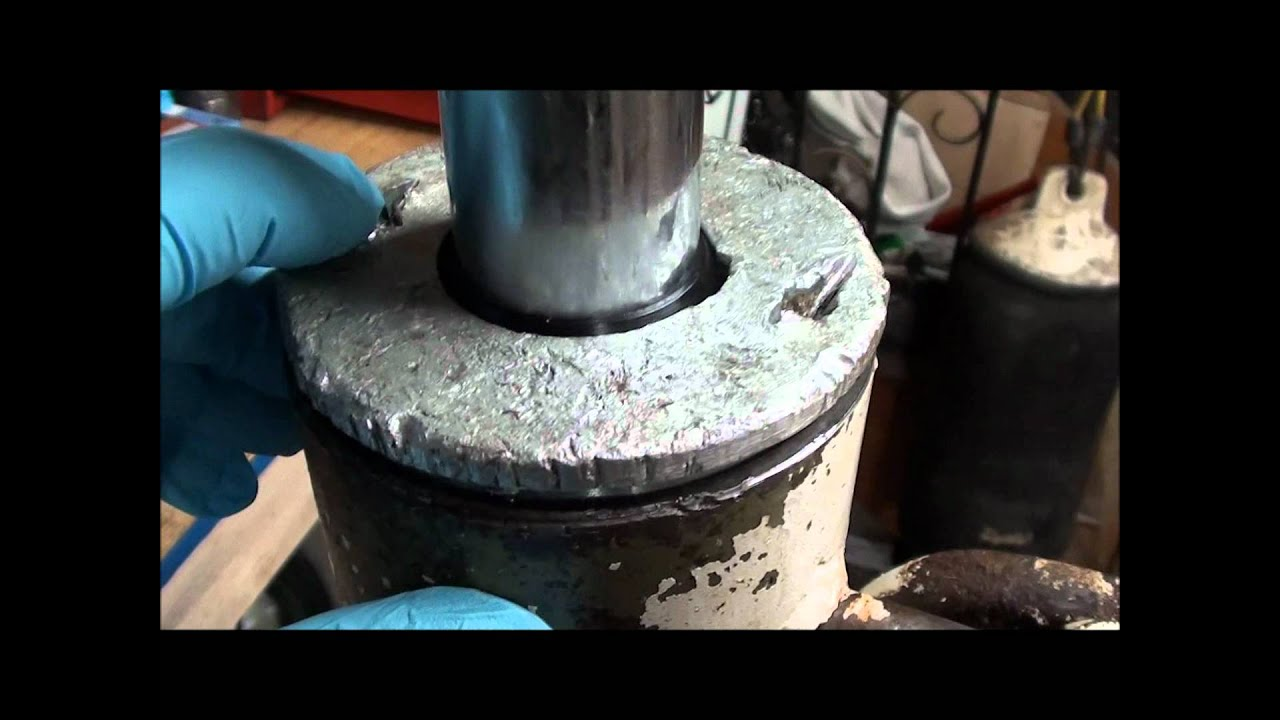 Bobcat Hydraulic Cylinder Repair Youtube