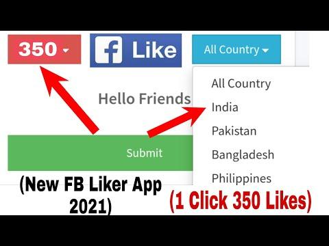 Facebook liker app